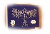 Exclusive Sammlermodelle der Lilienthal-Gleitapparate von 1889-1896 / Extraordinary collector`s models of the gliders by Otto Lilienthal of 1889-1896.
